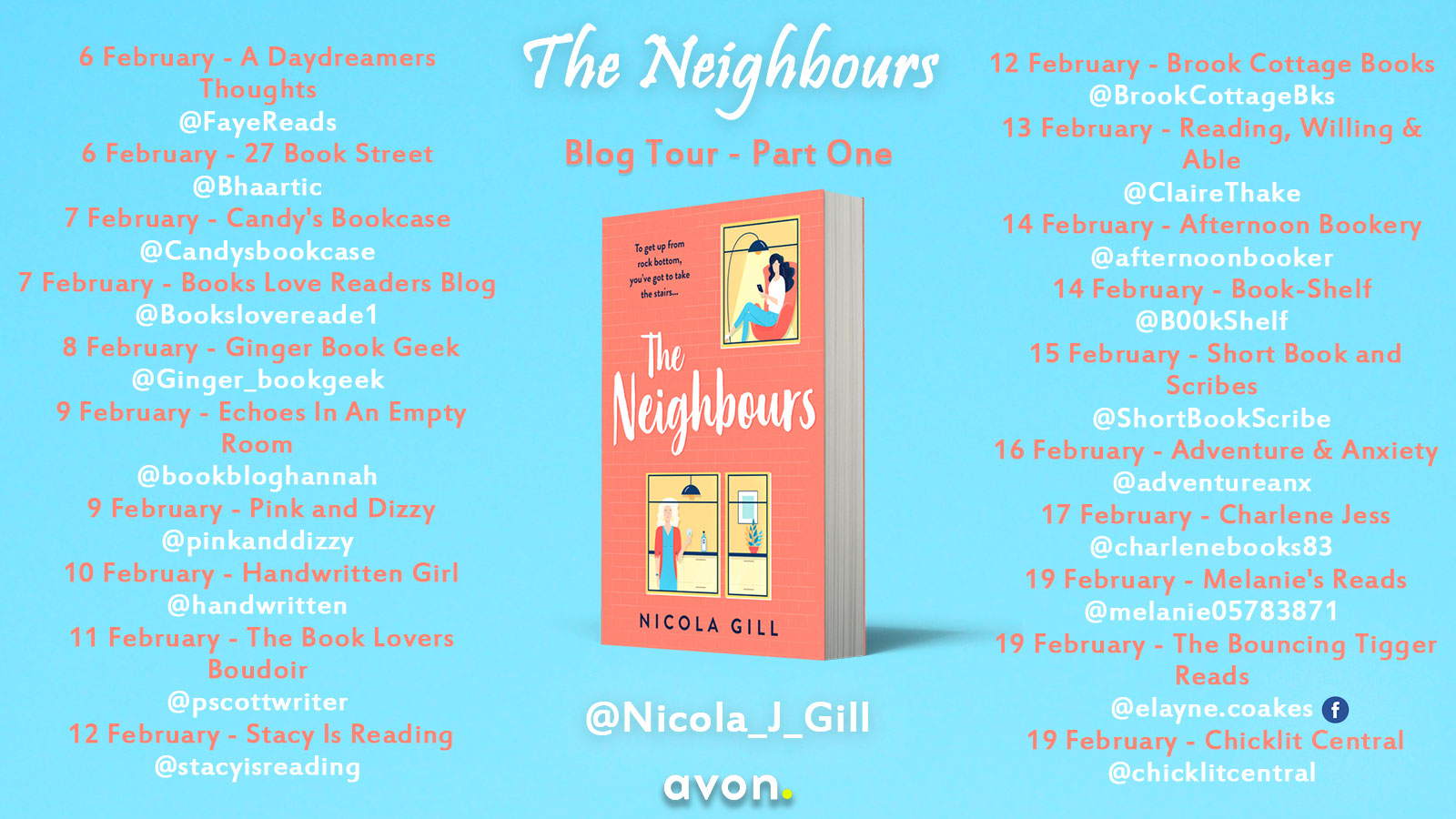 The Neighbours blog tour banner   Part 1