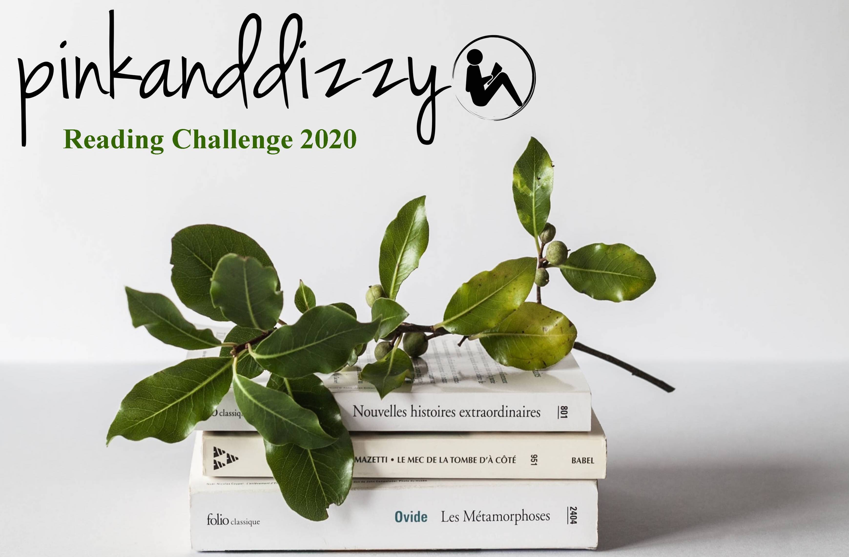 Reading challenge 2020 banner